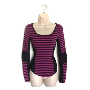 Betsey Johnson Collection Ribbed Long Sleeve